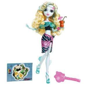 モンスターハイ スカルズラグーナブルードール Monster High Skull Shores Lagoona Blue Doll