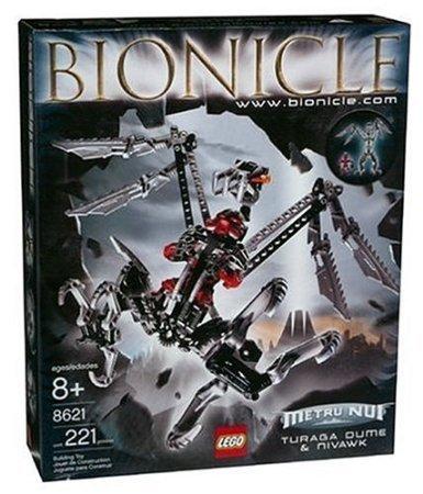 Lego (レゴ) Bionicle Turaga Dume & Nivawk (8621) ブロック おもちゃ