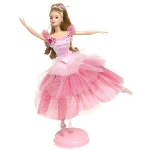 2000 Flower Ballerina Barbie Doll from The Nutcracker
