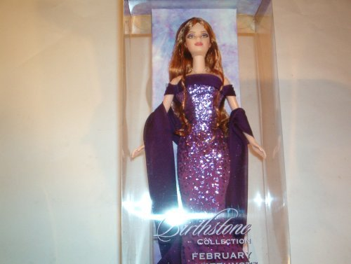 Barbie バービー Birthstone Collection, February / Amethyst 人形 ドール