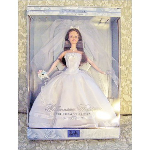 1999 Millennium Wedding Barbie バービー (Brunette) 人形 ドール