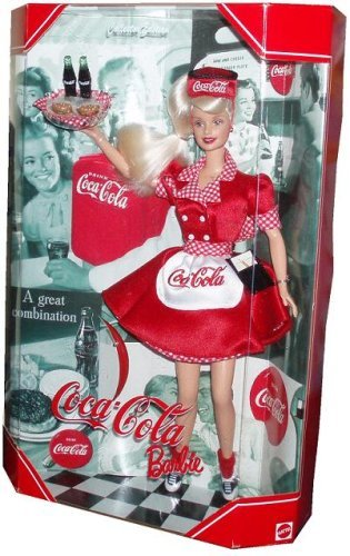1999 Barbie バービー Collectibles - Coca-Cola Babie #1 人形 ドール