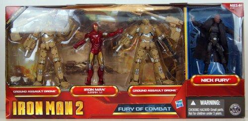 限定 アイアンマン2 3.75インチ フィギュア4パック ムービーシリーズ FURY OG COMBAT