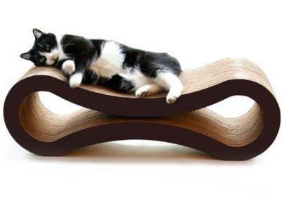 PetFusion ペットフュージョン 猫用爪とぎラウンジ デラックス