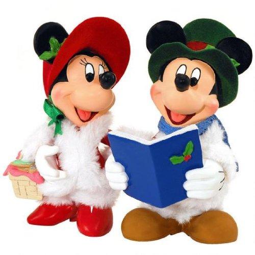 【2018?新作】 ディズニー デパートメント56 ディズニー ミニチュア ミニーマウス Carolers