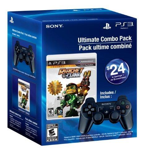 最新人気 Ultimate Combo Pack - - Ratchet Ratchet & Clank Collection Combo & Black Dualshock 3 - Playstation 3, 木製アウトレット再生工場:ea295c89 --- bibliahebraica.com.br