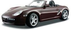 Maroon Porsche ポルシェ Boxster S 1:18 スケール Die Cast Carミニカー モデルカー ダイキャスト