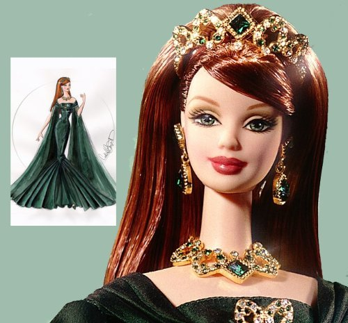 1999 Limited Edition First In The Series Royal Jewels Collection EMPRESS OF EMERALDS Barbie バービ