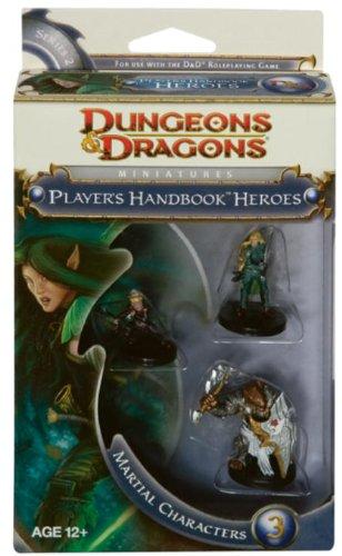 Player's Handbook Heroes: Series 2 - Martial Characters 3: A D&D Miniatures Accessory (D&D Miniatu