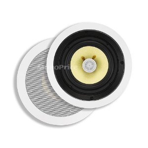 6-1/2 Inches Kevlar 2-Way In-Ceiling Speaker セイリング・スピーカー (Pair ペア) - 60W Nominal, 120