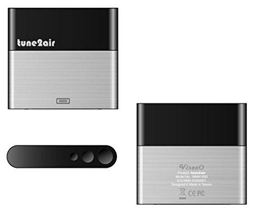 ViseeO Tune2air WMA1000 カーキット Apple デバイスとブルートゥース接続