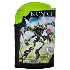 レゴ Year 2008 Bionicle Mistika シリーズ 6 インチ Tall フィギュア セット # 8695 - グリーン GORAST