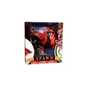 McFarlane - Spawn - Exclusive コレクターズ 2-Pack - Spawn I (Series1/1994) and Spawn V (Series17/2