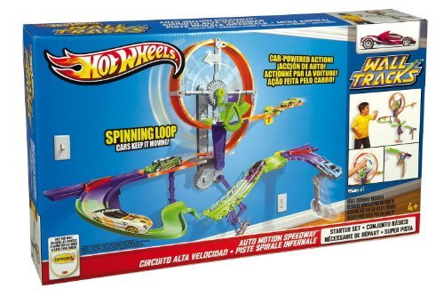 Hot Wheels Wall Tracks Auto Motion Speedway
