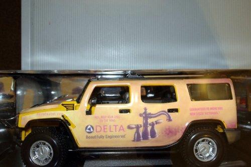 Maisto マイスト 1:18 スケール Yellow 2003 Hummer H2 Suvミニカー モデルカー ダイキャスト