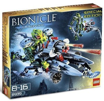 Lego (レゴ) Bionicle Lesovikk Special Edition Set 8939 ブロック おもちゃ