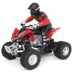 New Bright 2041-Red New Bright Rc 1-20 F-F Kawasaki 450 Red Motorcycle おもちゃ