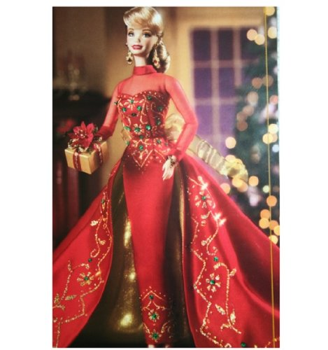 Holiday Gift Numbered Edition Porcelain Barbie バービー Doll From The Porcelain Collection 人形 ド