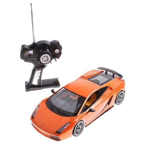 Orange Rastar 1:14 Lamborghini Gallardo Car Model with Remote Control おもちゃ