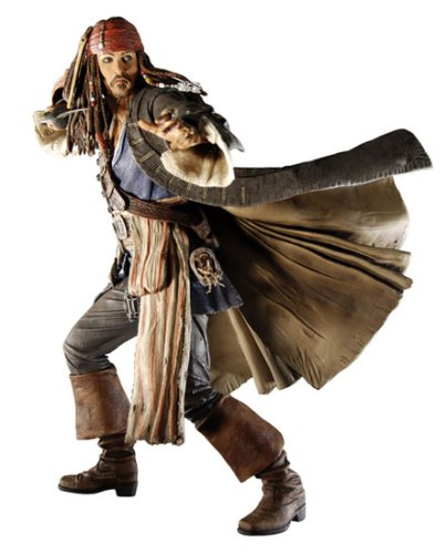 PIRATES of the CARIBBEAN At World's End 12 inch Sound Figure: CAPT. JACK SPARROW