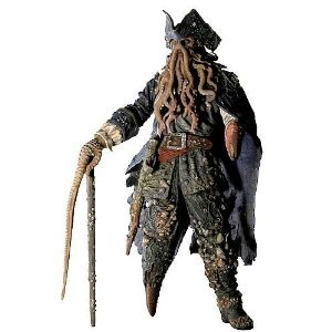 Pirates of the Caribbean 2 Davy Jones 12-Inch Talking Figure パイレーツオブカリビアン アクション