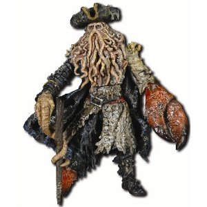 パイレーツオブカリビアン デイヴィージョーンズフィギュア Disney Pirates Of The Caribbean Dead Man