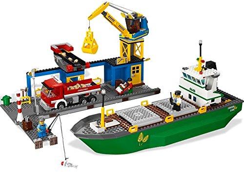 レゴ シティ コンテナ船とハーバー 4645