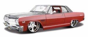 CHEVY MALIBU 1965 1/24 ダイキャスト ミニカー ダイキャスト 車 自動車 ミニチュア 模型