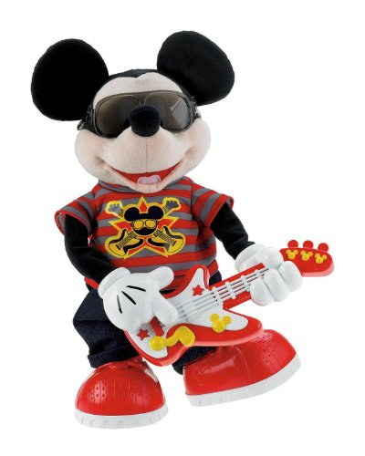 Fisher-Price Disney's ディズニー Rock Star Mickey ぬいぐるみ