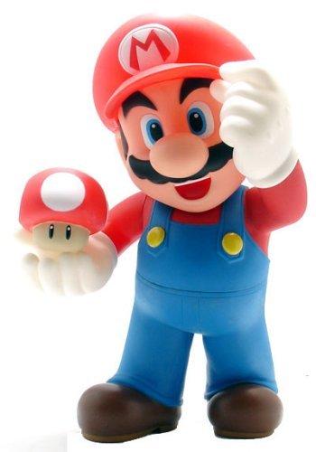 Super Mario スーパーマリオ Brothers: Desktop Sofbi Series Mario 12-inch アクションフィギュア 人形