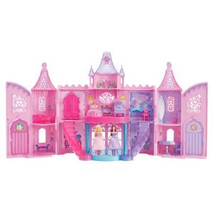 Barbie The Princess and The Popstar Musical Light Up Castle Playset