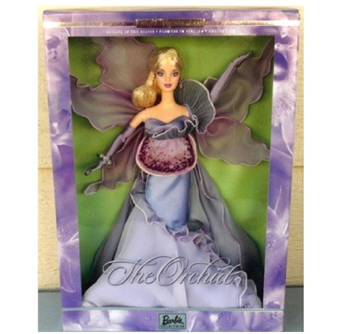 Barbie(バービー) The ORCHID Flowers in Fashion Doll フラワー・ファッション ドール