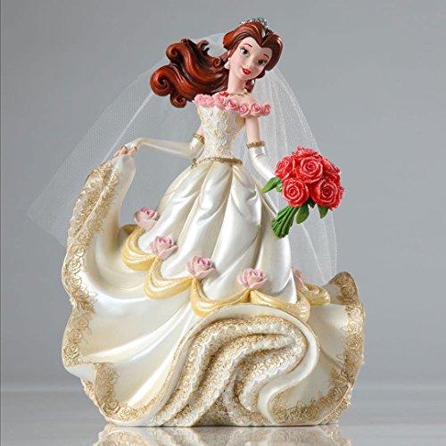 エネスコ Enesco Disney Showcase Belle Bridal Figurine