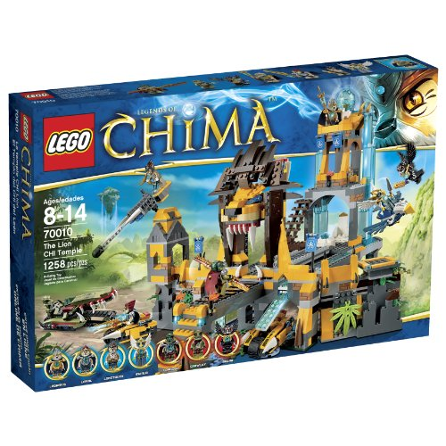 レゴチーマ ライオンの神殿 LEGO Chima 70010 The Lion CHI Temple