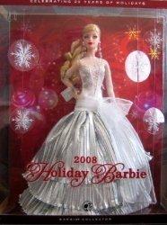 ホリデー バービー 人形 2008 コレクターズエディション - Celebrating 20 Years ホリデー (2008 131002f