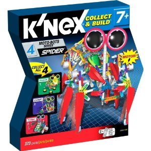 K'NEX Collect & Build スパイダー モトボットビルのセット12153