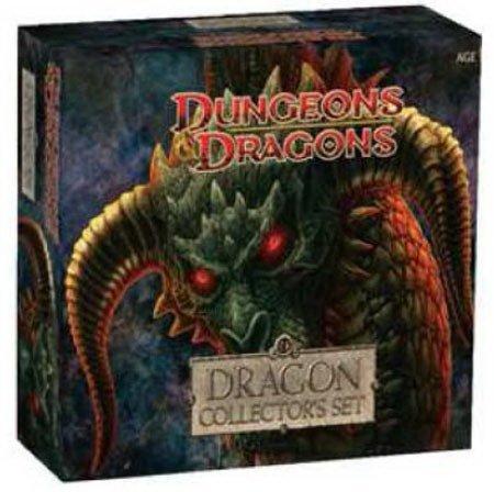 D&Dミニチュア ドラゴン・コレクターズセット 大型ミニチュア5体入り