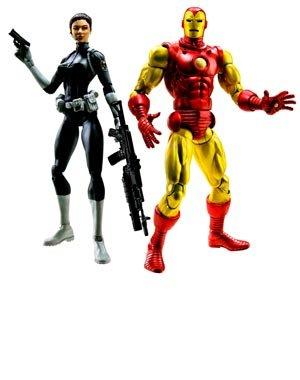 マーベル レジェンド Marvel Legends 6インチ 2パック アイアンマン & マリア ヒル