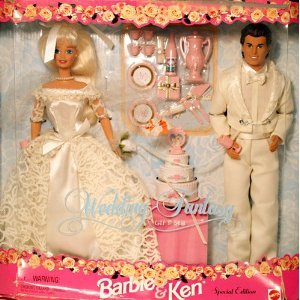 Barbie バービー and Ken Wedding Fantasy Gift Set Special Edition Bride and Groom