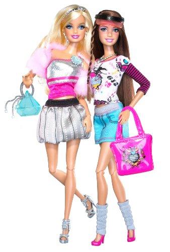 バービーBarbie Fashionistas Glam And Sporty  T6998