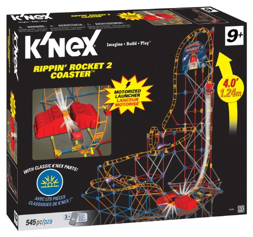 K'NEX・ケネックス リッピン・ロケット2・コースター