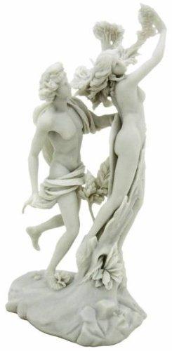 アポロ と ダフネ ギリシャの女神の彫刻像 大理石風(ベルニーニ作)