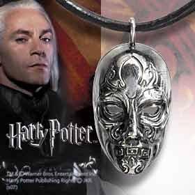 ハリーポッター ルシウスマルフォイ デスイーター(死喰い人)マスク シルバー製ペンダント
