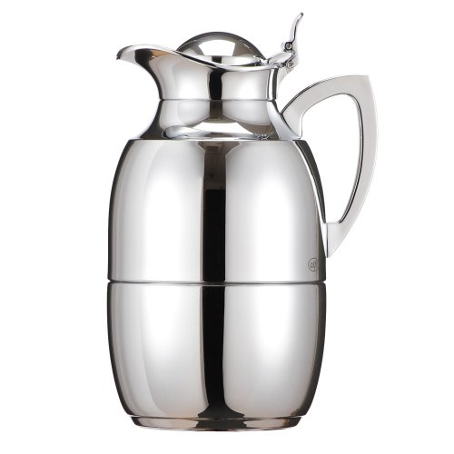 Alfi アルフィ ジュエルクローム 10L 572000100 ガラス製卓上用魔法瓶 ポット 真空 サーモ