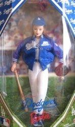 Los エンジェルes Dodgers バービー 人形 コレクターズエディション (1999) 131002fnp