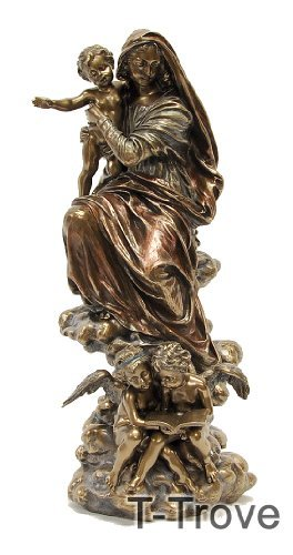 Cold Cast Bronze Madonna of the Harpies Statue Figurineハーピーの像の置物のコールドキャストブロン