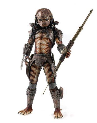 Neca Predators 2 Series 1 - 1/4 Scale Masked City Hunter Predator Action Figure - 5000 Worldwide O