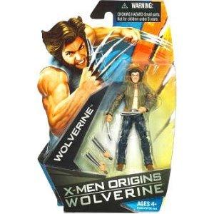 X-Men Origins Wolverine ムービー Series 3 3/4 インチ Action フィギュア Wolverine with ジャケット