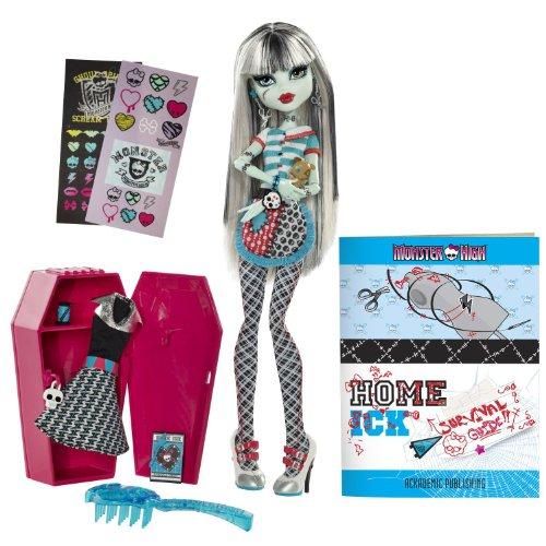 モンスターハイ Monster High Classroom Playset And Frankie Stein Doll