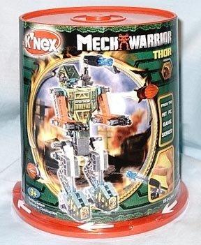 K'Nex Mech Warrior Thor フィギュア ダイキャスト 人形